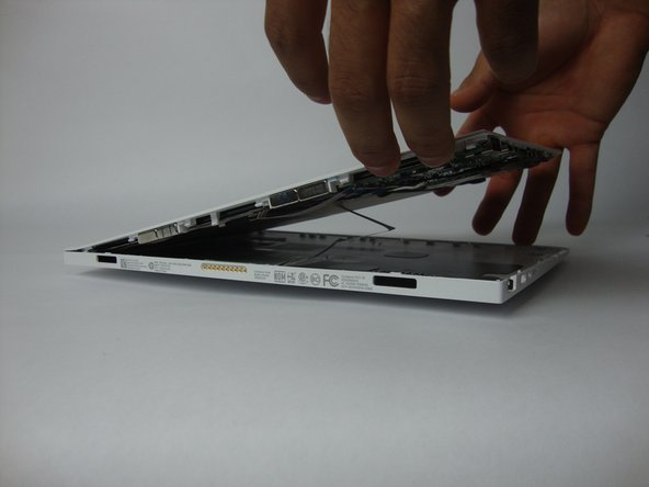 Gently lift and remove the display panel from the assembly.