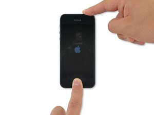Comment forcer le redémarrage d'un iPhone 5s