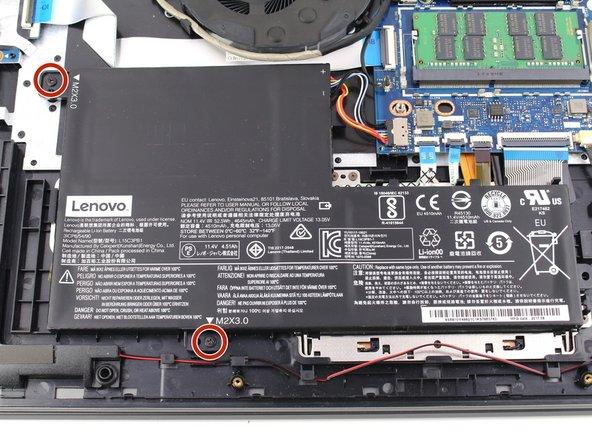Lenovo IdeaPad Flex 5-1570 Battery Replacement