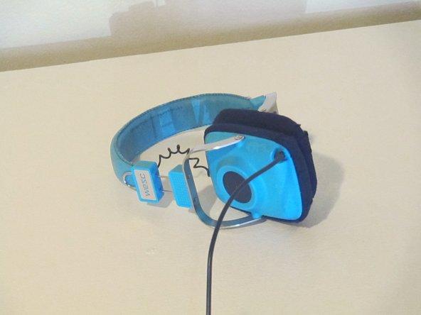How to recover/reupholster WESC Maraca Headphone Ear Cushions