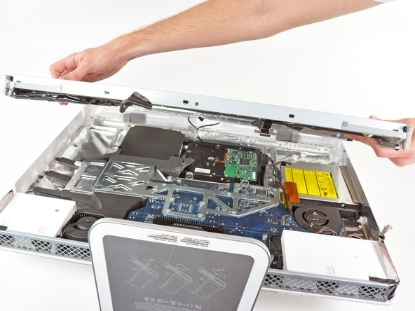 Remove the display assembly from the iMac.