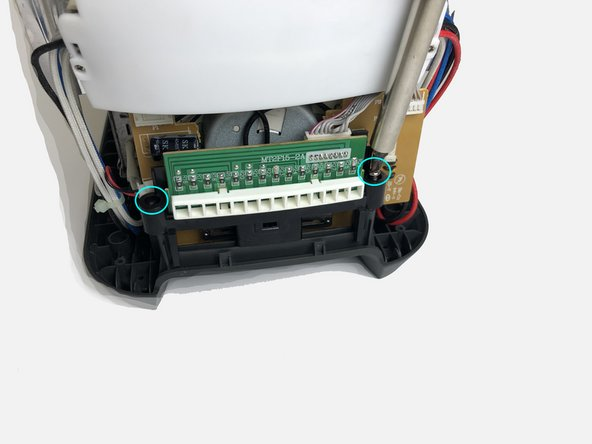 Note: There are two housings attach to both side of the interior body of the toaster.