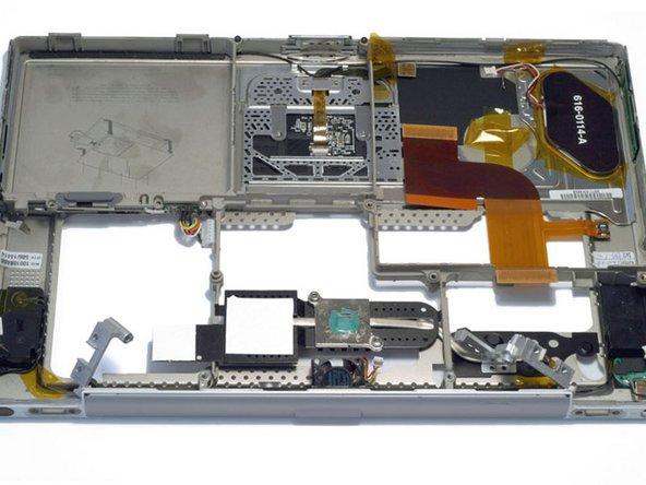 PowerBook G4 Titanium Mercury Upper Case Replacement