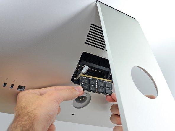 """Reemplazo de RAM iMac Intel 27"""" EMC 2546"""