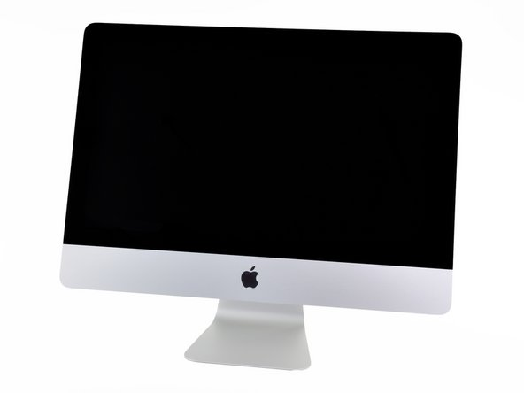 "Introducing the new 21.5"" iMac, now featuring additional features such as a Thunderbolt port and a quad-core processor."