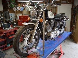 Harley-Davidson Sportster Evolution Front Brake Fluid Change