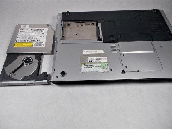 HP Pavilion dv4000 CD/DVD drive Replacement