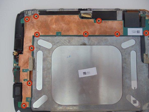 Remplacement du haut-parleur du Lenovo IdeaTab S2109A-F