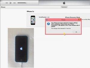 iPhone 4 / 4S / 5 / 5S / 5c / 6 / 6S-DFUモードの解除方法とパスワードの回復