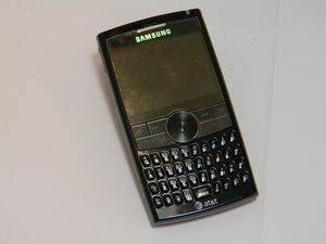 Samsung BlackJack II Troubleshooting