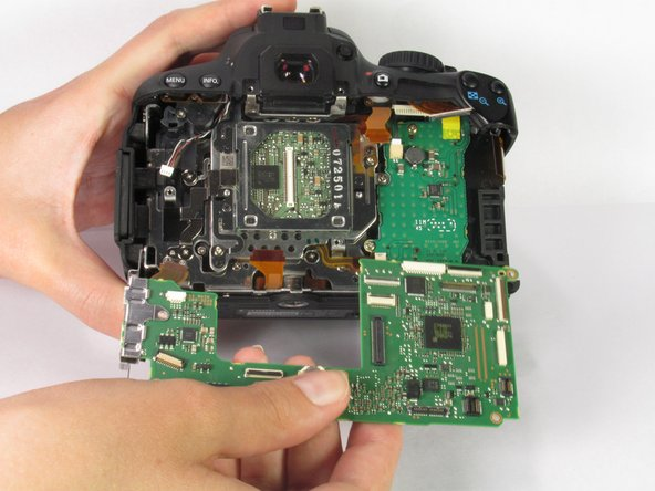 Canon EOS Rebel T4i Motherboard Replacement