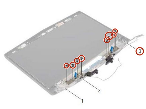 Dell Alienware 14 Display Hinges Replacement