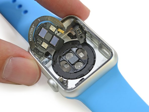 Scraping the bottom of the barrel watch case, we find the pulse-pounding sensor action. And lenses.