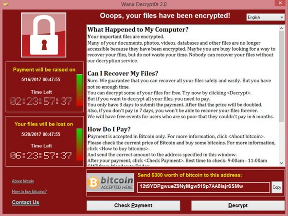 How to protect your self from Wanacrypt