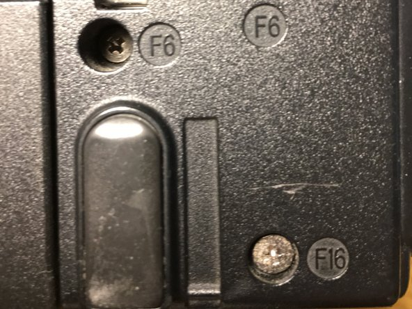 Follow the procedure in reverse to reassemble the laptop.  Note that almost all of the case screw holes indicate the length of the screw that belongs there.  See first photo.
