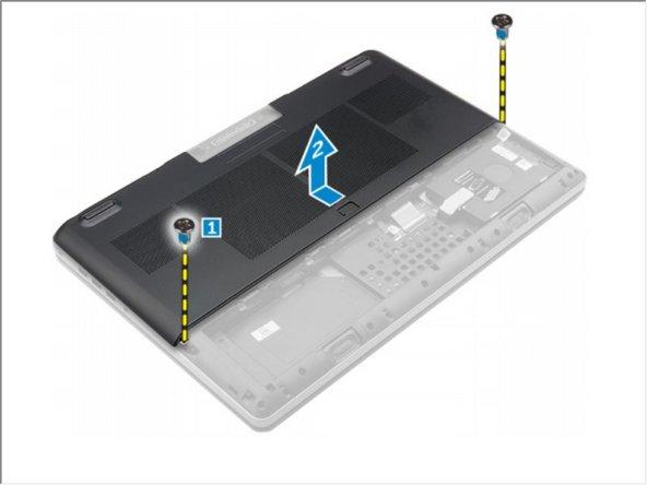 Dell Precision 7510 Base Cover Replacement