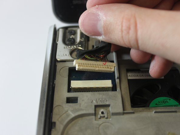 Disconnect the display panel cable.