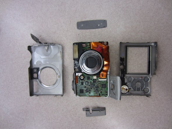 Canon PowerShot SD500 Digital ELPH Front and Rear Casing Replacement