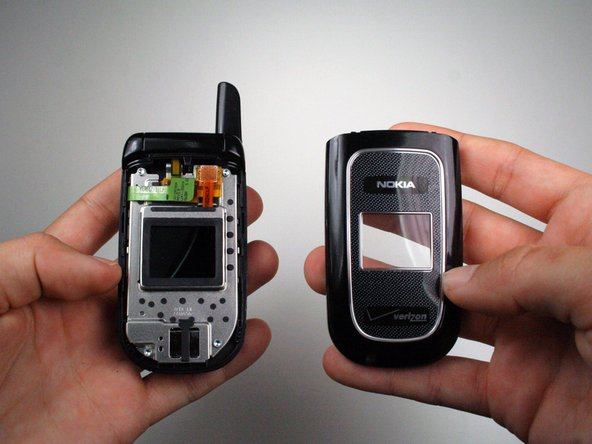 Disassembling Nokia 2366i Front Cover