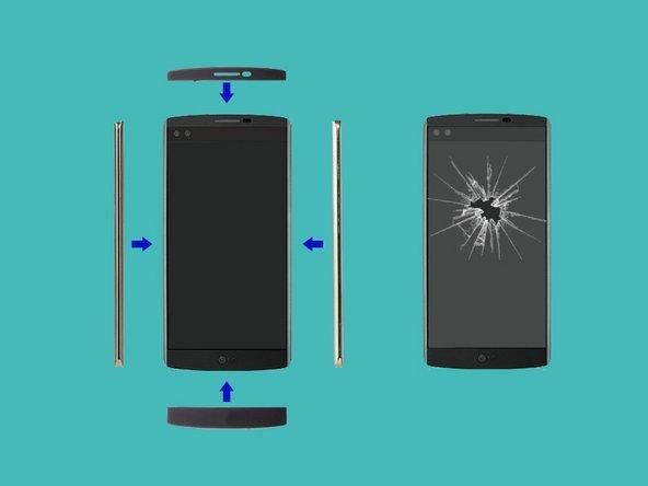 How to repair LG V10 LCD Screen