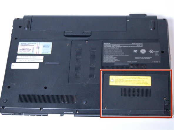 Sony Vaio PCG-61112L Hard Drive Replacement