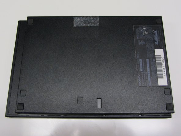 Disassembling PlayStation 2 Slimline Outer Shell