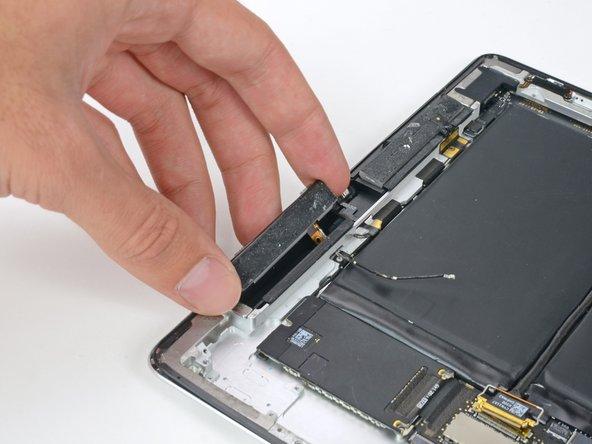 iPad 2 CDMA Left Cellular Data Antenna Replacement