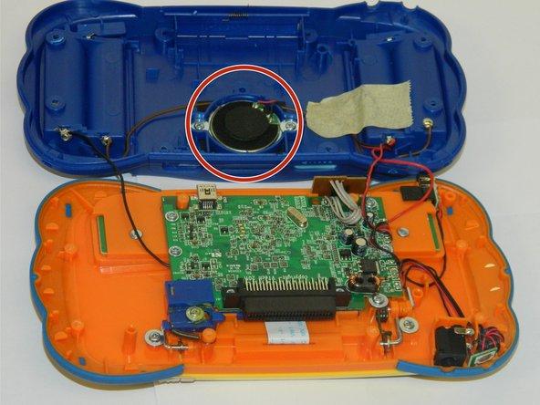 Replacing VTech MobiGo Touch Learning System Speaker