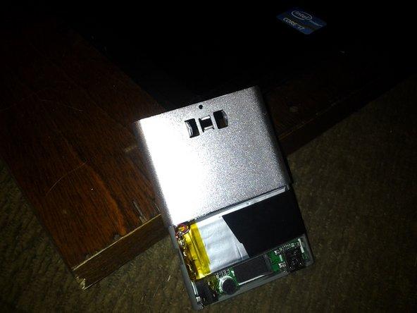 Eclipse T180 MP3 remove casing & Belt Clip 3 Steps