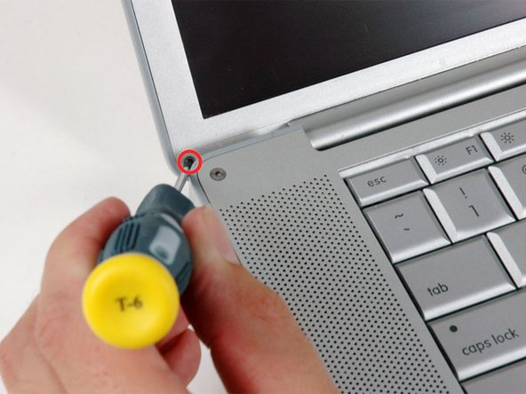 "PowerBook G4 Aluminum 15"" 1.67 GHz Rear Display Bezel Replacement"