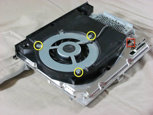 Playstation 3 Fan Replacement