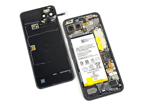 Google Pixel 4 Back Panel Replacement