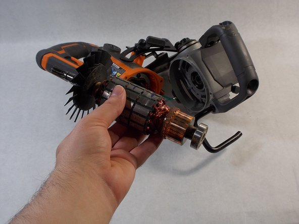 RIDGID R32104 Motor Rotor Replacement