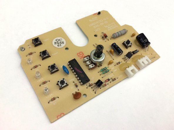Oster 6329 Circuit Board Resistor Replacement