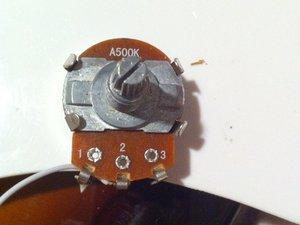 How to repair a broken potentiometer or pot