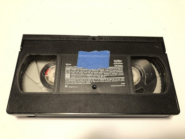 How to Fix a Damaged VHS Tape