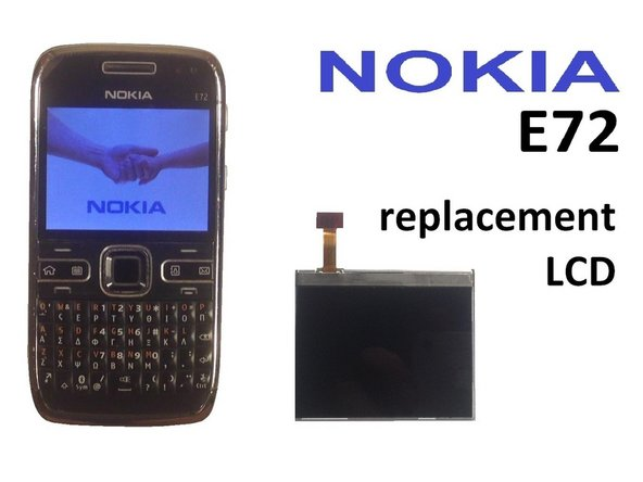 Nokia E72 Screen Replacement