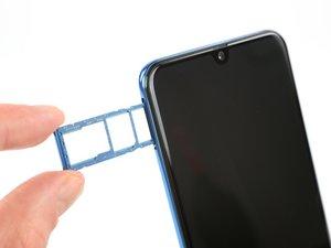 Samsung Galaxy A50 SIM-Einschub tauschen