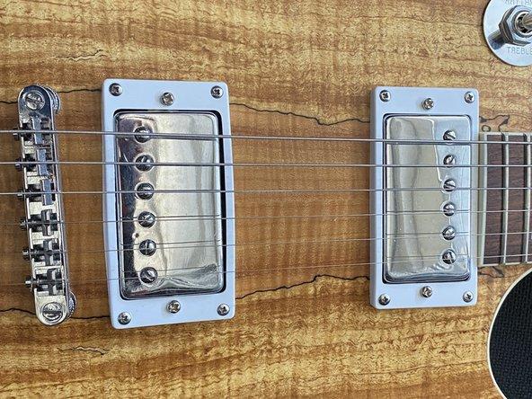 Les Paul Guitar Pickup Replacement