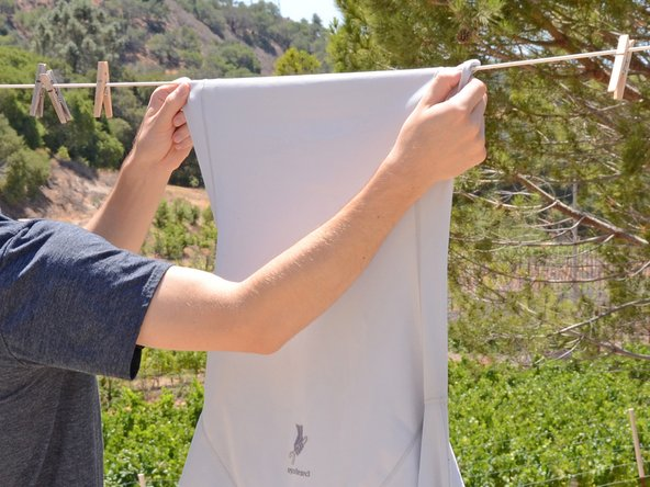 How to Line Dry Clothing