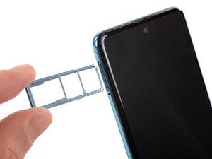 Samsung Galaxy A51 SIM Tray Removal