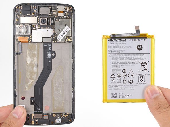Motorola Moto E4 Plus Akku tauschen
