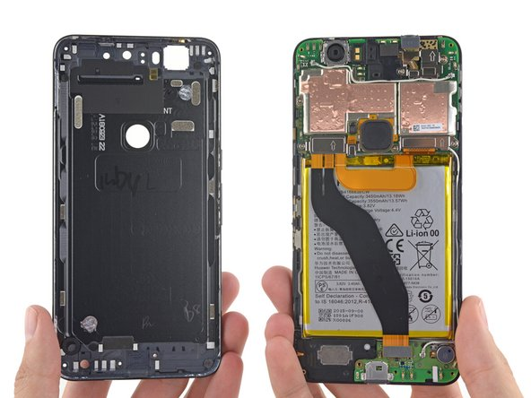 With the initial adhesive adventures behind us, the 6P has finally come out of its shell.