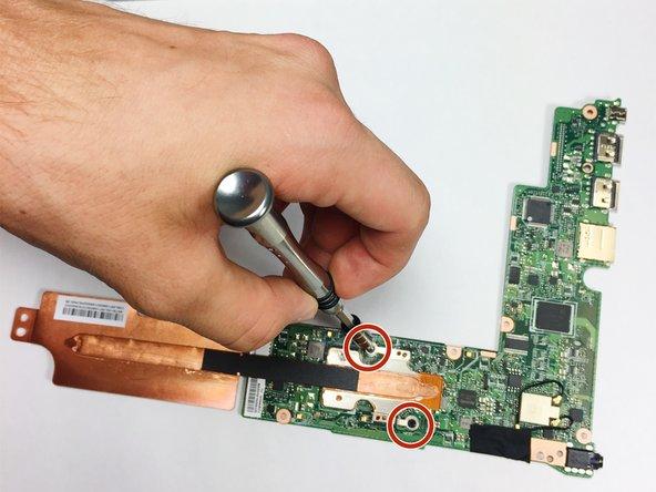 Asus Chromebook Flip C100P Heatsink Replacement
