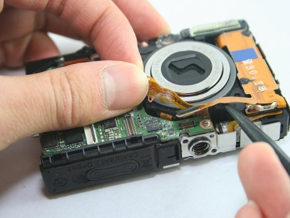 Disconnect the flash assembly ribbon.