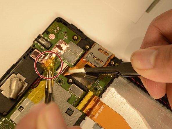 Lenovo Tab 4 8 MicroSD Card Reader Replacement
