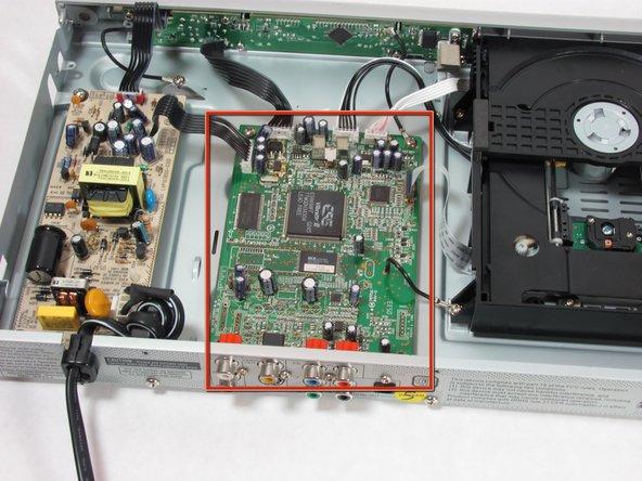 Philips DVP642 Motherboard Replacement