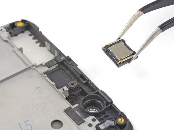 Remove the earpiece module.
