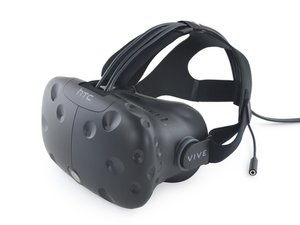 HTC Virtual Reality Headset and Controller