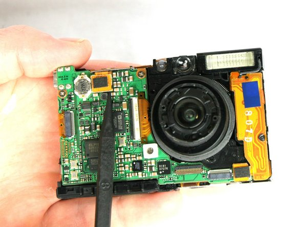 Canon PowerShot SD1000 Lens Replacement
